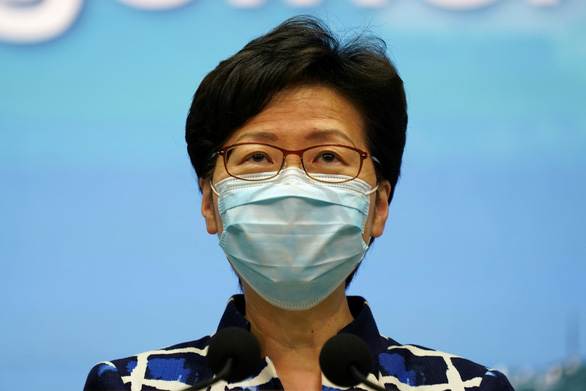 Ms. Carrie Lam: China will handle 12 Hong Kong people who cross the border to Taiwan - Photo 1.