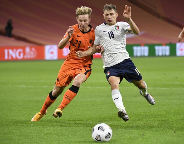 Thi đấu nhạt nhòa, Hà Lan bị Ý đánh bại ở Nations League - Ảnh 1.