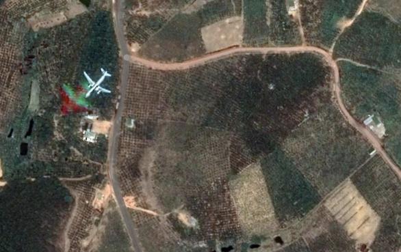 Xuất hiện trên Google Maps hình ảnh máy bay rơi ở xã B'Lá, Lâm Đồng? - Ảnh 1.