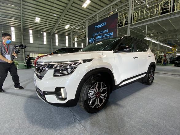 KIA Seltos, mẫu xe SUV đầu tiên của thế hệ sản phẩm mới của KIA giá chỉ từ 589 triệu đồng - Ảnh 1.
