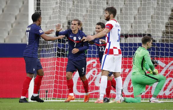 Pháp tái lập tỉ số trận chung kết World Cup 2018 trước Croatia - Ảnh 1.