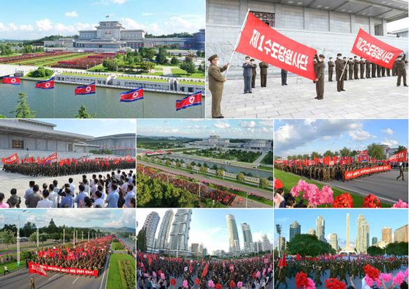 Triều Tiên lập Hội thề Bình Nhưỡng trước Cung điện Mặt trời Kumsusan - Ảnh 2.