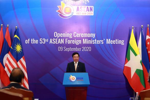 ASEAN hoan nghênh các sáng kiến hợp tác với Trung Quốc - Ảnh 1.