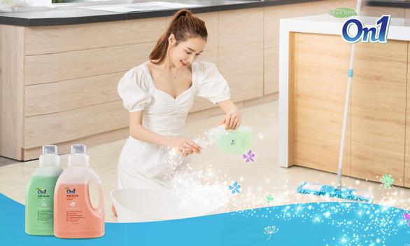 Nước lau sàn On1: Đưa mùi hương spa về nhà bạn - Ảnh 1.