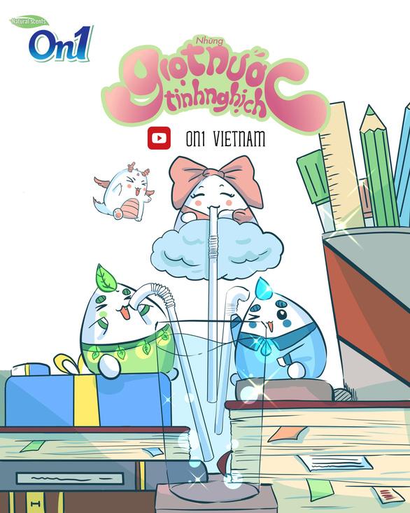 Series hoạt hình 'Những giọt nước tinh nghịch' và bài học bổ ích cho trẻ - Ảnh 2.