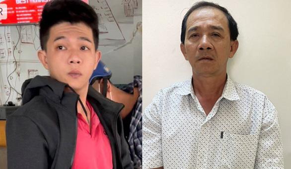 Hai cha con giả cảnh sát hình sự để cướp xe máy ở Hóc Môn - Ảnh 1.