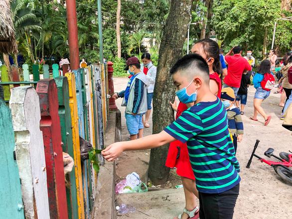 Giá vé tăng, người dân lại đến đông hơn để ủng hộ Thảo cầm viên Sài Gòn - Ảnh 7.