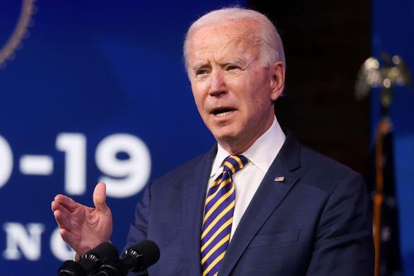 Ông Joe Biden kêu gọi đất nước 'đoàn kết, hàn gắn và tái thiết' - Ảnh 1.
