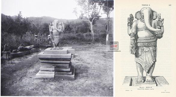 Hai cổ vật điêu khắc Chăm được công nhận bảo vật quốc gia - Ảnh 2.