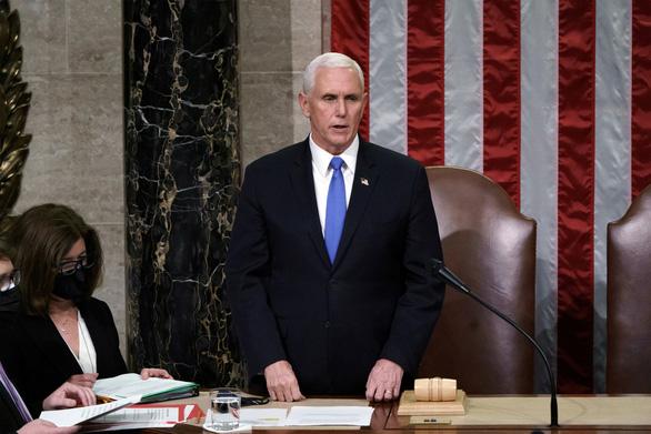 Phó tổng thống Mike Pence sẽ dự lễ nhậm chức của ông Joe Biden - Ảnh 1.