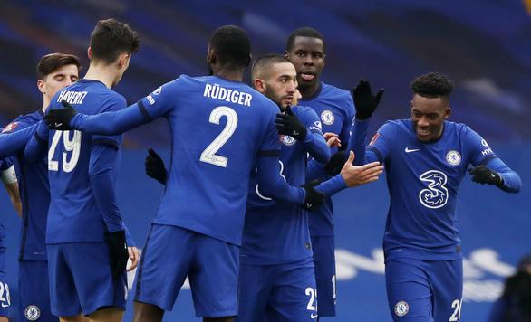 Man City và Chelsea dễ dàng ghi tên vào vòng 4 Cúp FA - Ảnh 3.