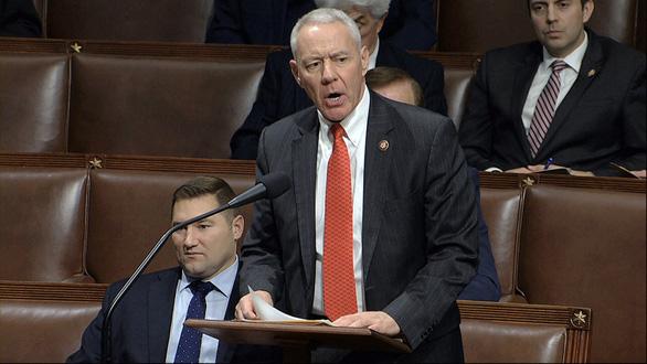 Nghị sĩ Cộng hòa gửi thư cho ông Biden kêu gọi không luận tội ông Trump - Ảnh 1.