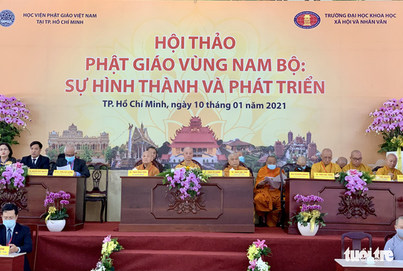 Phật giáo vùng Nam Bộ đóng vai trò quan trọng trong đời sống văn hóa, tinh thần - Ảnh 1.