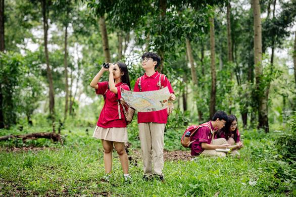 Trường học Xanh - câu chuyện từ bục giảng đến những rừng cây - Ảnh 1.