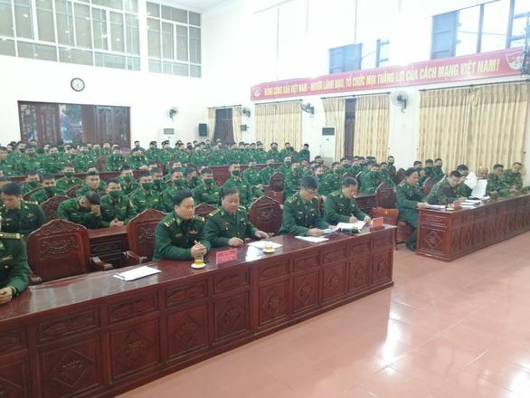 Tăng cường 140 cán bộ, học viên biên phòng lên biên giới Cao Bằng chống dịch - Ảnh 1.