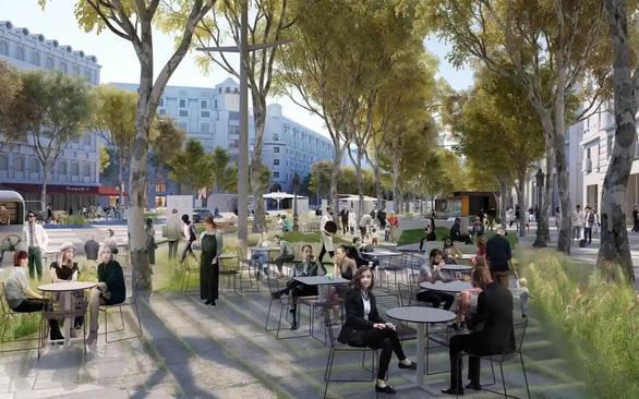 پاریس می خواهد خیابان شانزه لیزه را به باغی عظیم تبدیل کند - عکس 1.