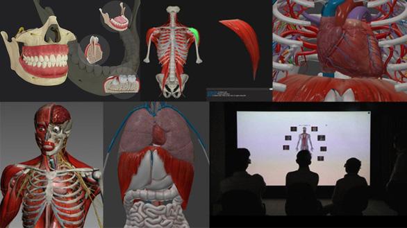 Trao giải nhì sản phẩm số tiềm năng 2020 cho ứng dụng 3D trong Y học của ĐH Duy Tân - Ảnh 2.