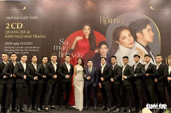 Quang Hà, Kiwi Ngô Mai Trang ra mắt 2 CD đánh dấu tình bạn 10 năm - Ảnh 1.