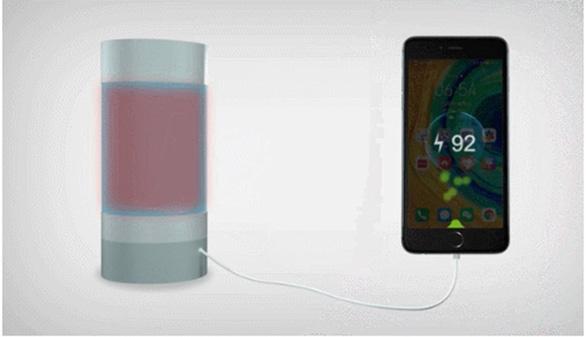 Sạc điện thoại di động bằng nước nóng - Ảnh 1.