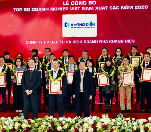 Vinh danh Top 50 doanh nghiệp Việt Nam xuất sắc năm 2020 - Ảnh 2.