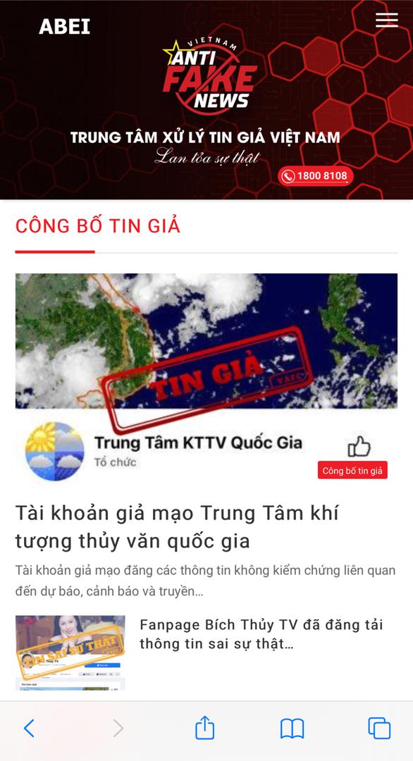 Việt Nam khai trương trung tâm xử lý tin giả - Ảnh 1.