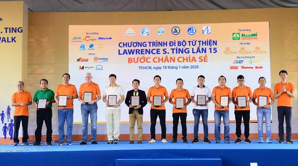 Chương trình Đi bộ Từ thiện Lawrence S. Ting: Đồng hành và chia sẻ - Ảnh 1.