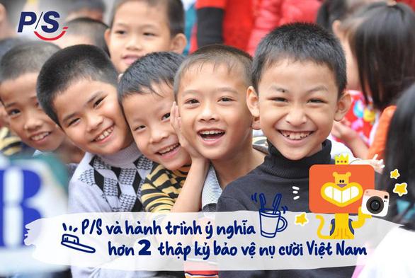P/S và hành trình 2 thập kỷ bảo vệ nụ cười Việt Nam - Ảnh 6.