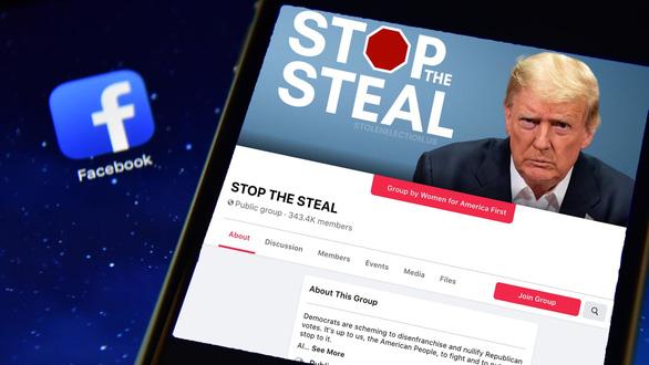 Mất chục tỉ USD vì cấm ông Trump, Facebook và Twitter vẫn cứng rắn - Ảnh 1.
