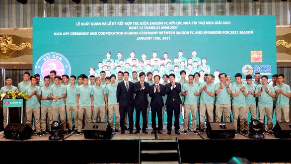 Nhận tài trợ hơn 100 tỉ, CLB Sài Gòn tự tin sẽ thành công ở V-League 2021 - Ảnh 1.