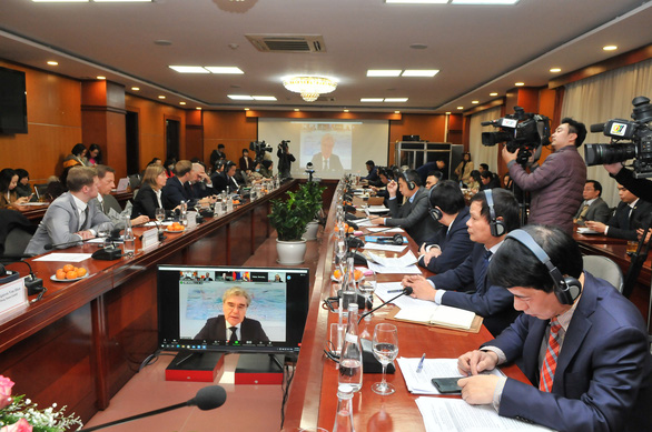 Việt Nam đề nghị Đức hỗ trợ thành lập Trung tâm chuyển đổi số sản xuất - Ảnh 1.