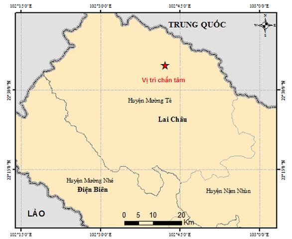 Động đất 3,6 độ Richter ở Lai Châu - Ảnh 1.