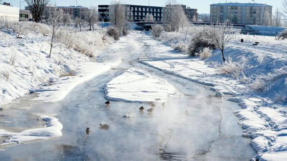 غیرمعمول: درجه حرارت در مرکز اسپانیا تا 25- درجه سانتیگراد و به همان اندازه سرد بودن سیبری کاهش می یابد - عکس 1.