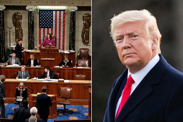مجلس نمایندگان آمریکا قطعنامه ای را تصویب کرد که خواستار فعال سازی اصلاحیه 25 برای برکناری آقای ترامپ است - عکس 1.
