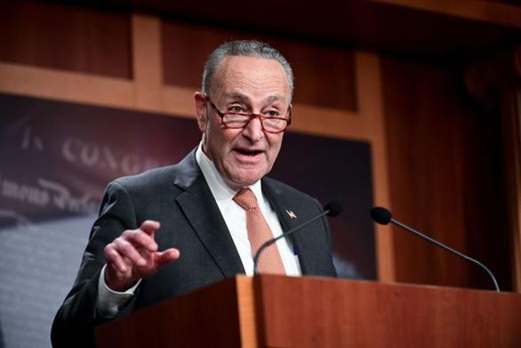 Lãnh đạo đảng Dân chủ tại Thượng viện: nên cấm bay những kẻ bạo loạn - Ảnh 1.