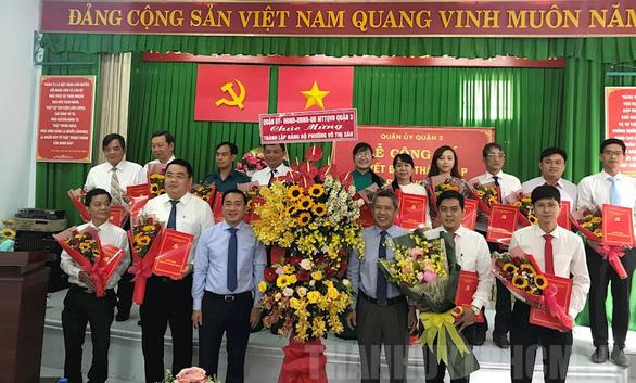 Thành lập Đảng bộ phường Võ Thị Sáu, quận 3 sau sáp nhập đơn vị hành chính - Ảnh 1.