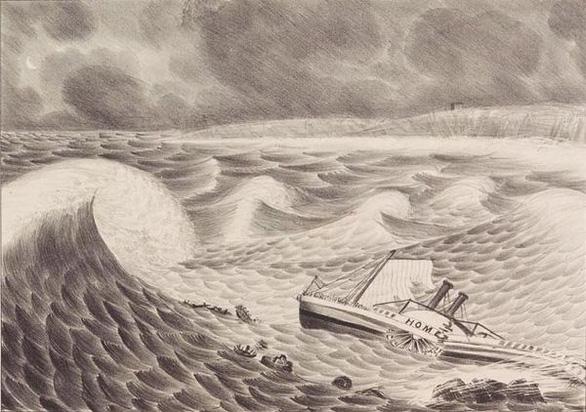 Tàu đắm trăm năm bất ngờ 'trồi' lên bãi biển - Ảnh 2.