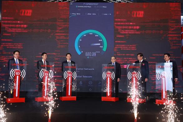 Khu công nghiệp đầu tiên trong toàn quốc có sóng 5G - Ảnh 1.
