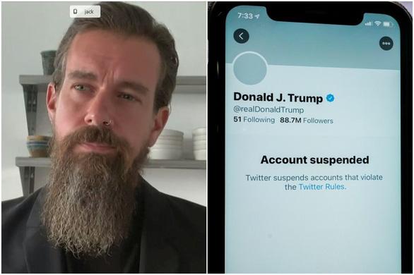 CEO Twitter bảo vệ lệnh cấm ông Trump, thừa nhận là 'có thể tạo ra tiền lệ nguy hiểm - Ảnh 1.