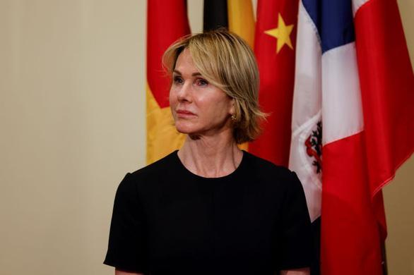 Không thăm được Đài Loan, Đại sứ Mỹ tại LHQ điện đàm với bà Thái Anh Văn - Ảnh 1.