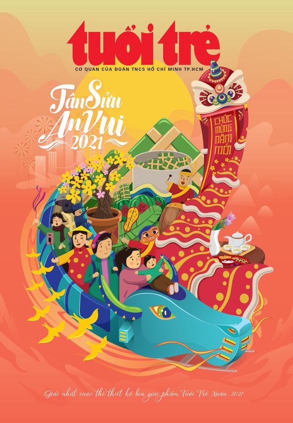 Báo xuân Tuổi Trẻ, Khăn Quàng Đỏ, Mực Tím, Nhi Đồng cháy sạp ở Đường sách - Ảnh 2.