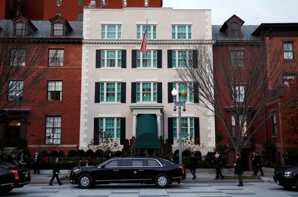 Nhà khách dành cho tân tổng thống Mỹ chờ nhậm chức có gì đặc biệt? - Ảnh 1.