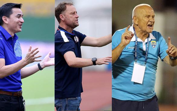 V-League 2021: Thách thức cho 3 HLV ngoại - Ảnh 1.