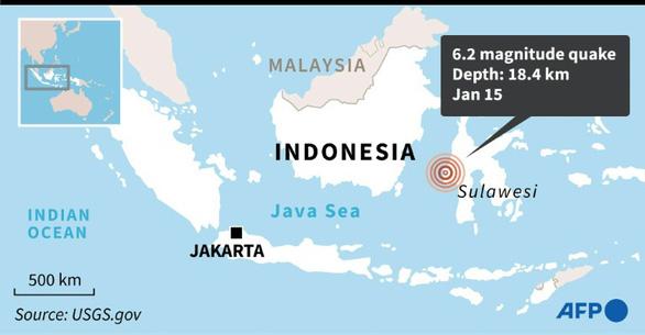 Động đất mạnh ở Indonesia, ít nhất 34 người chết, hơn 600 người bị thương - Ảnh 2.