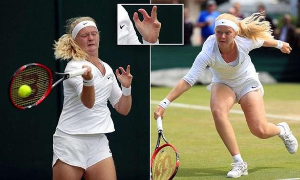 Cô gái có 8 ngón tay, 7 ngón chân, nhân tố bí ẩn ở Giải Úc mở rộng - Ảnh 1.