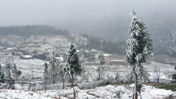Ngày và đêm 17-1, Hà Giang, Lào Cai có thể xuất hiện mưa tuyết - Ảnh 1.
