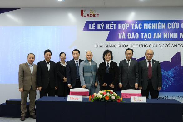Trường ĐH Bách khoa Hà Nội ký kết với BKAV đào tạo an ninh mạng - Ảnh 1.