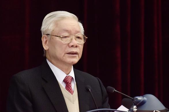 Ảnh lãnh đạo dự khai mạc Hội nghị Trung ương lần thứ 15 - Ảnh 1.