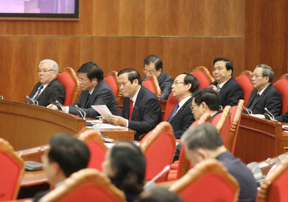 Ảnh lãnh đạo dự khai mạc Hội nghị Trung ương lần thứ 15 - Ảnh 7.