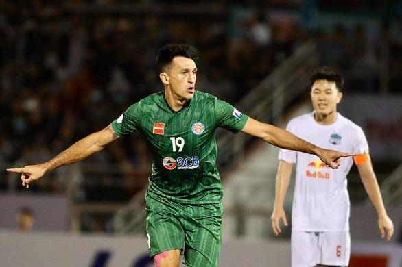 Sài Gòn thắng HAGL trong ngày Kiatisak ra mắt V-League 2021 - Ảnh 2.