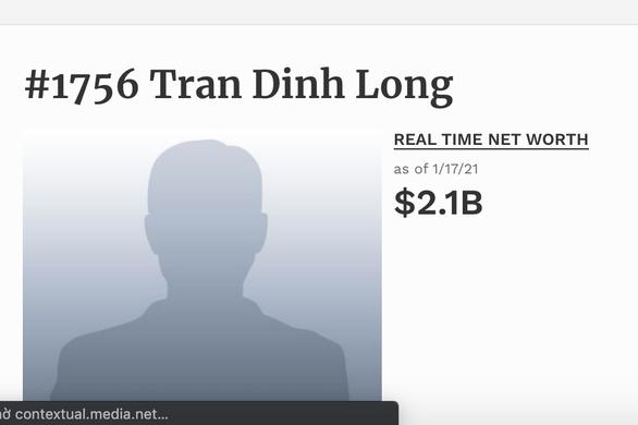 Chỉ hai tuần đầu năm, tài sản các tỉ phú đôla Việt Nam tăng vọt ra sao? - Ảnh 3.
